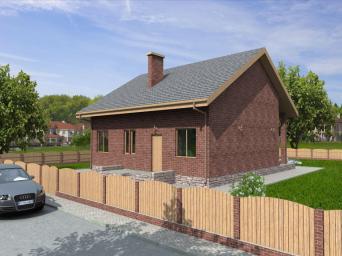 Проекты домов из пеноблоков до 100 кв.м. Дома из пеноблока до 100